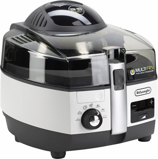 De'Longhi Heissluftfritteuse MultiFry EXTRA CHEF FH1394, 2300 W, Multicooker mit 4-in-1 Funktion, auch zum Brotbacken