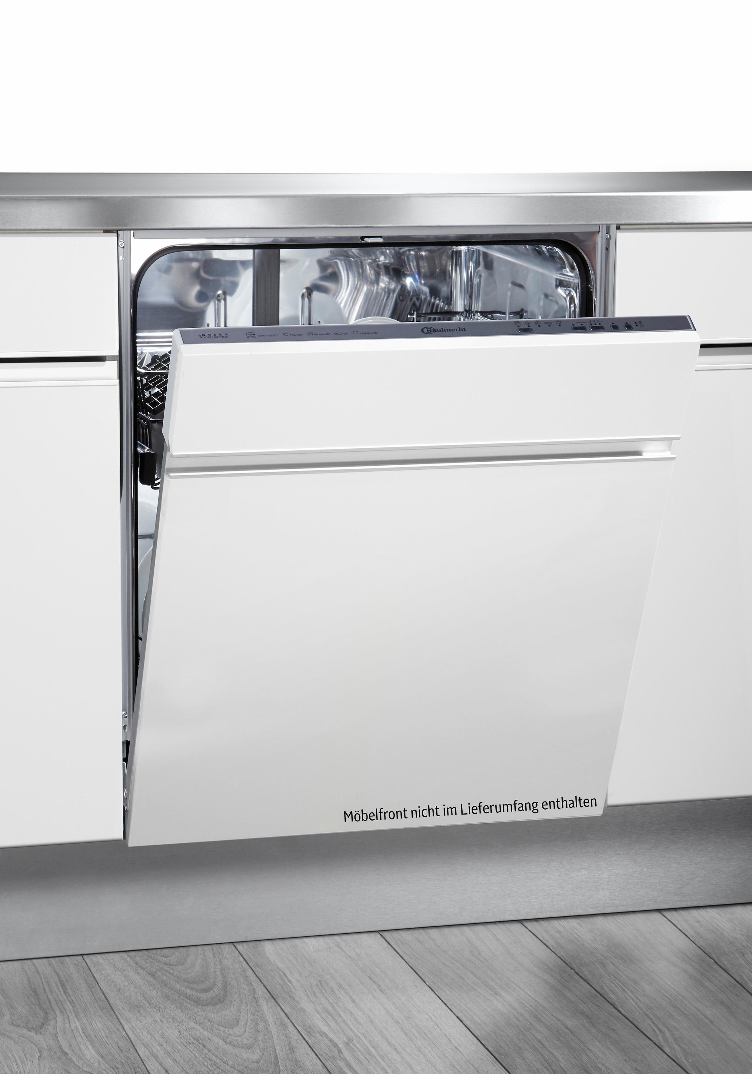 Bauknecht vollintegrierbarer Einbaugeschirrspüler GSXK 5104A2, A++, 11 Liter, 13 Maßgedecke