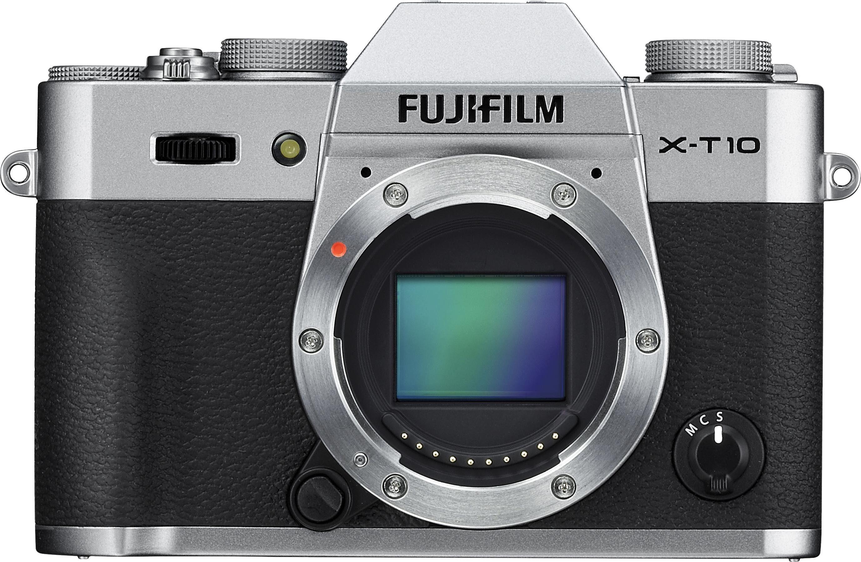 FUJIFILM »X-T10 Body« Systemkamera-Body (16,3 MP, WLAN (Wi-Fi)