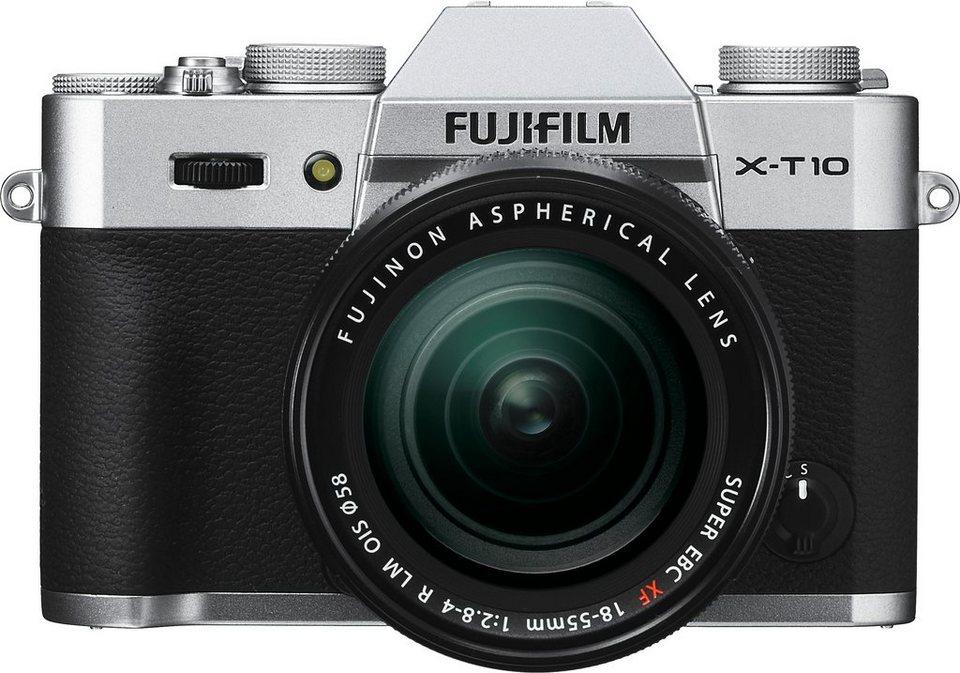 fujifilm x t10 system kamera fujinon xf18 55mm f2 8 4 r. Black Bedroom Furniture Sets. Home Design Ideas
