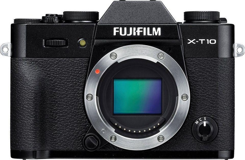 FUJIFILM X-T10 Body System Kamera, 16,3 Megapixel, 7,6 cm (3 Zoll) Display in schwarz