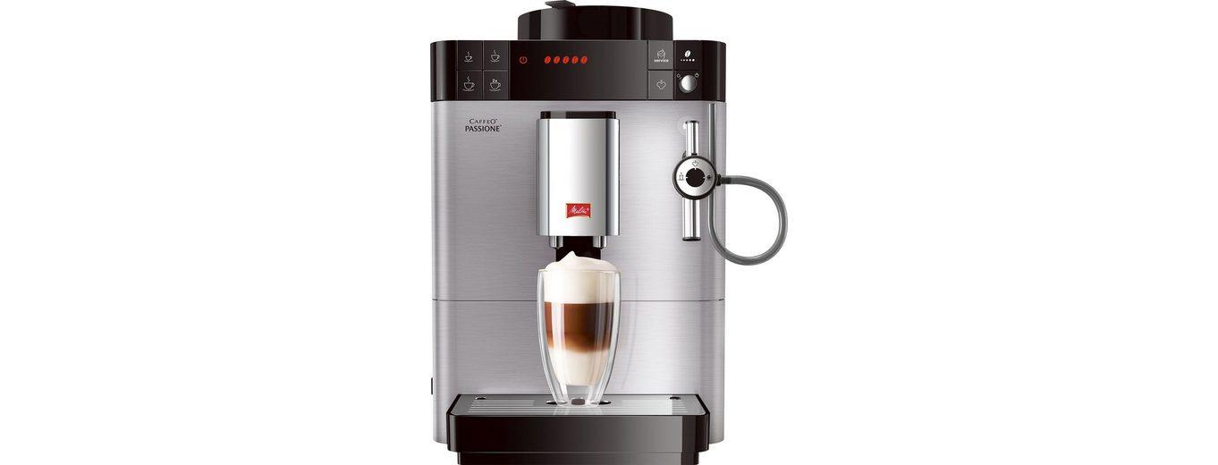 Melitta® Kaffeevollautomat F54/0-100 Caffeo® Passione®, Edelstahl, 15 bar