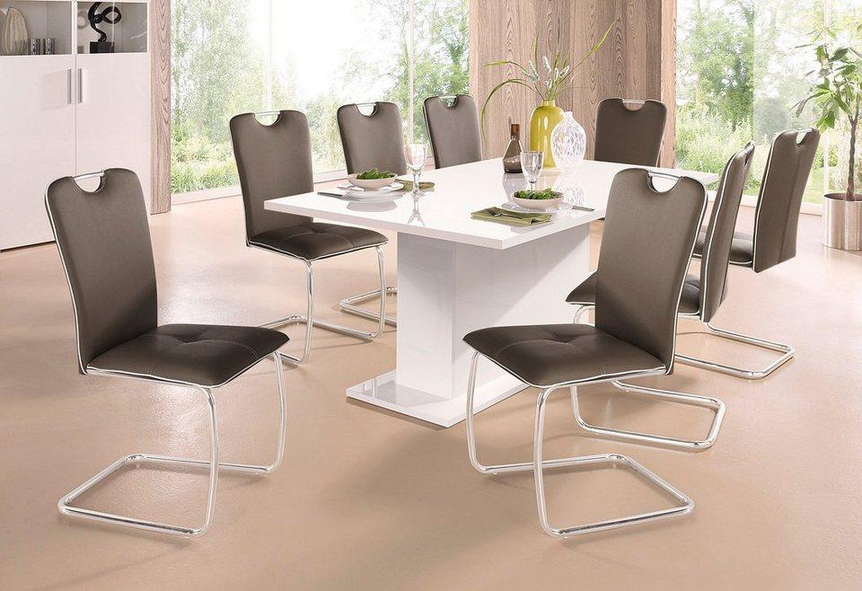 Esstisch rund weiß hochglanz  Säulentisch online kaufen | OTTO