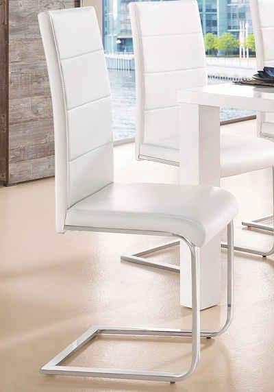 Klassisches Stuhl Design für Holz, umgesetzt mit Kunststoff