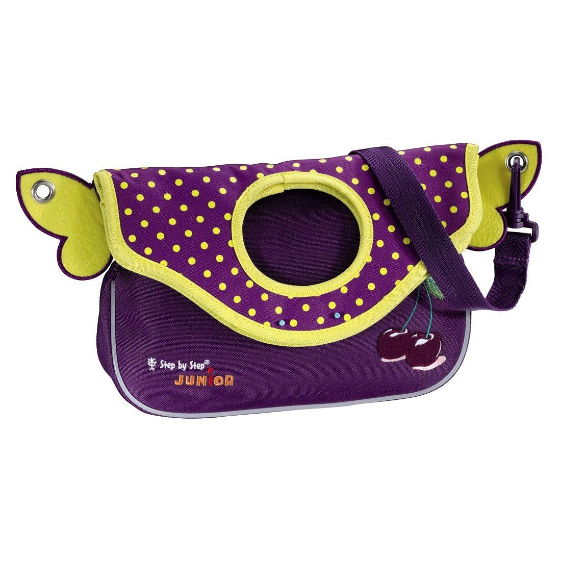 Step by Step JUNIOR Kindergartentasche Alpbag Girls, Purple Cherry