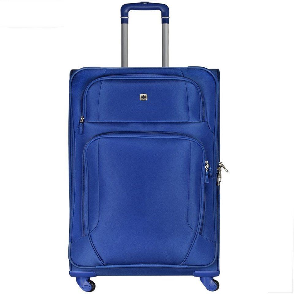Wenger Luggage Reisegepäck Lugano 4-Rollen Kabinentrolley 50 cm in blau