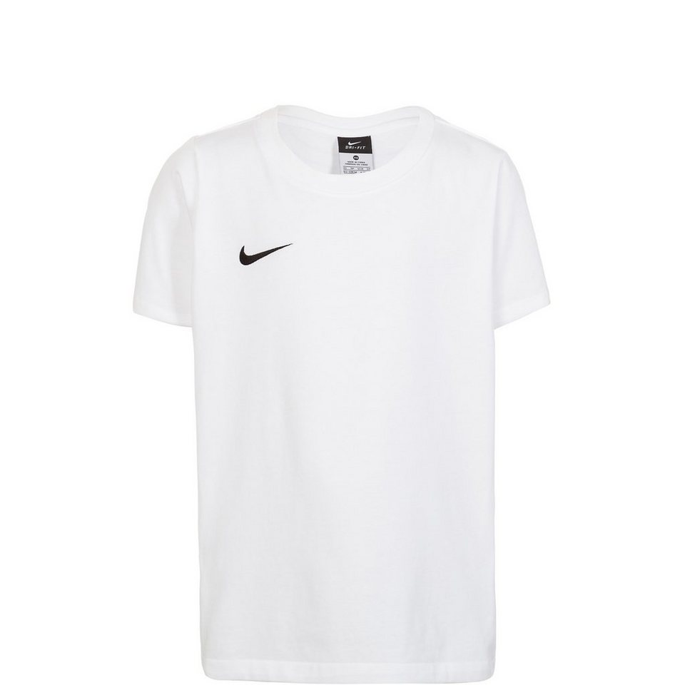 NIKE Team Club Blend Trainingsshirt Kinder in weiß / schwarz