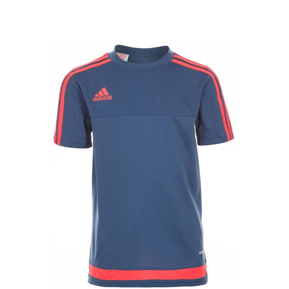 adidas Performance Tiro 15 Trainingsshirt Kinder in dunkelblau / neonrot