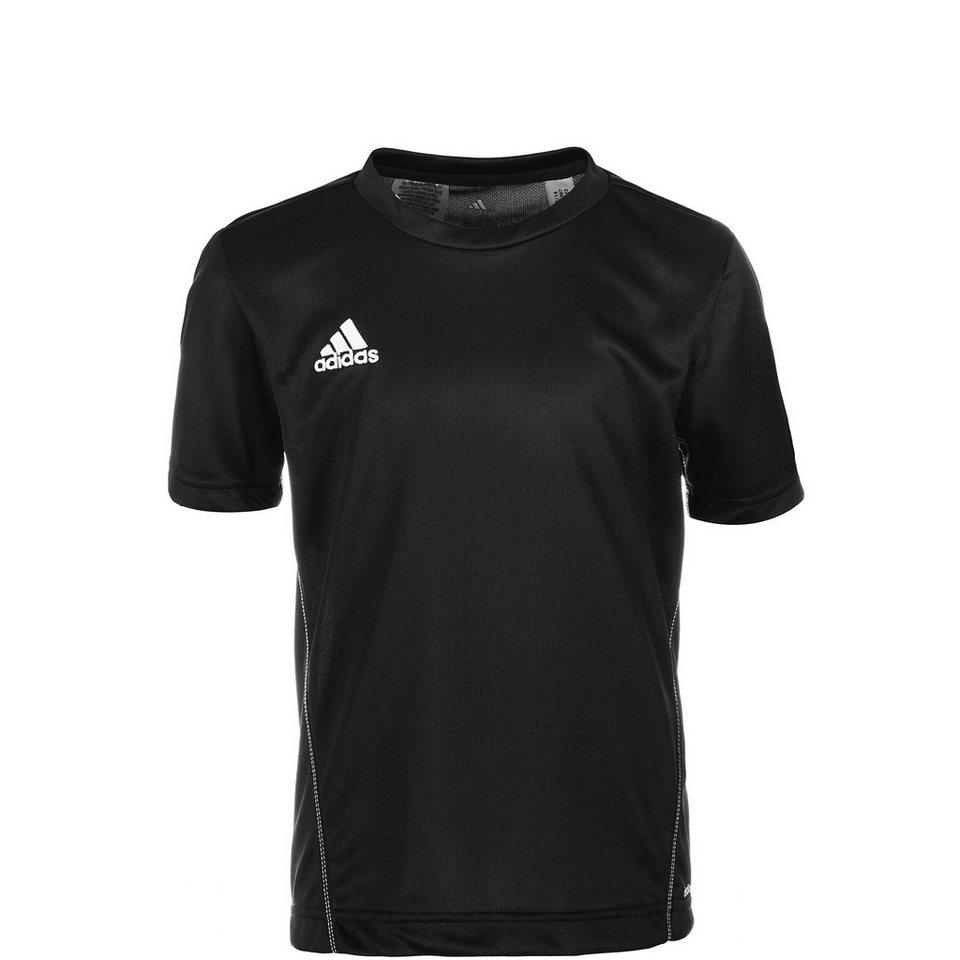 adidas Performance Core 15 Trainingsshirt Kinder in schwarz / weiß