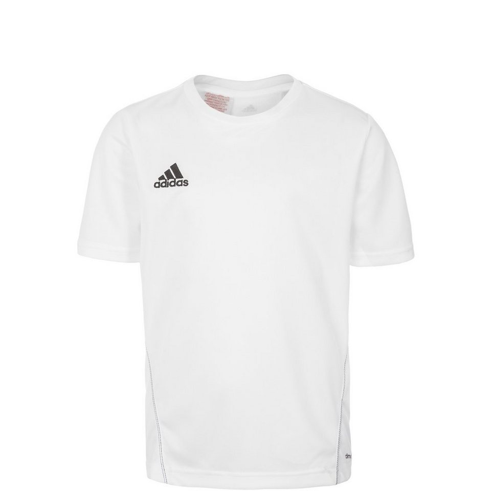adidas Performance Core 15 Trainingsshirt Kinder in weiß / schwarz