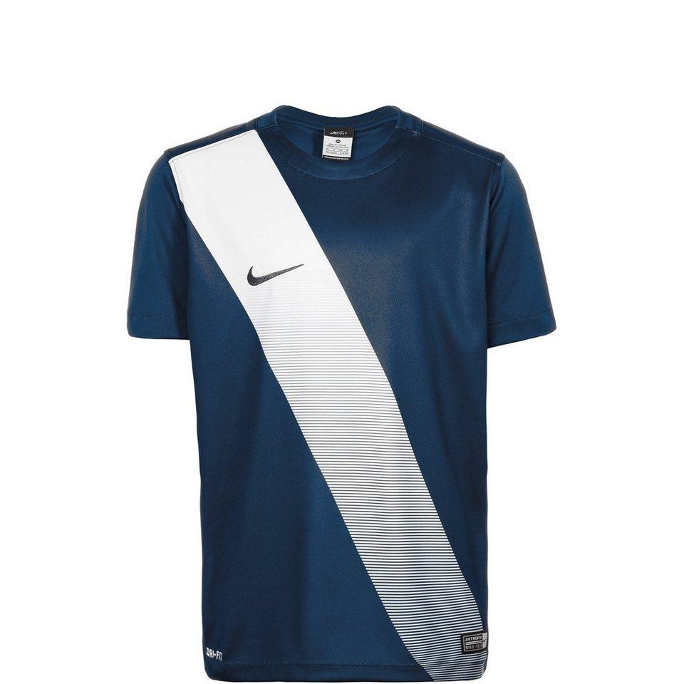 NIKE Sash Fußballtrikot Kinder in dunkelblau / weiß
