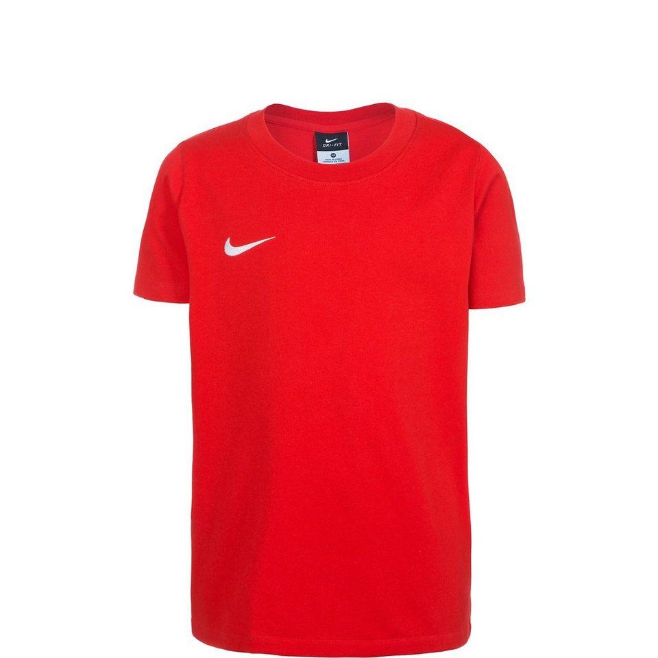 NIKE Team Club Blend Trainingsshirt Kinder in rot / weiß