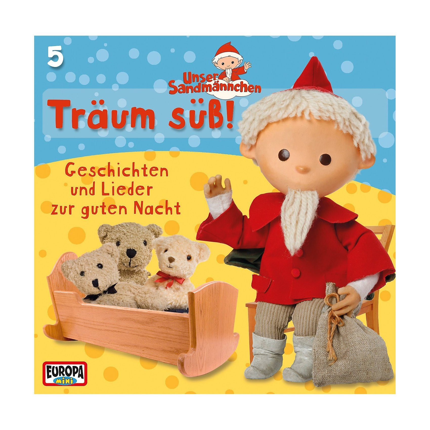 SONY BMG MUSIC CD Unser Sandmännchen 5 - Träum süß!