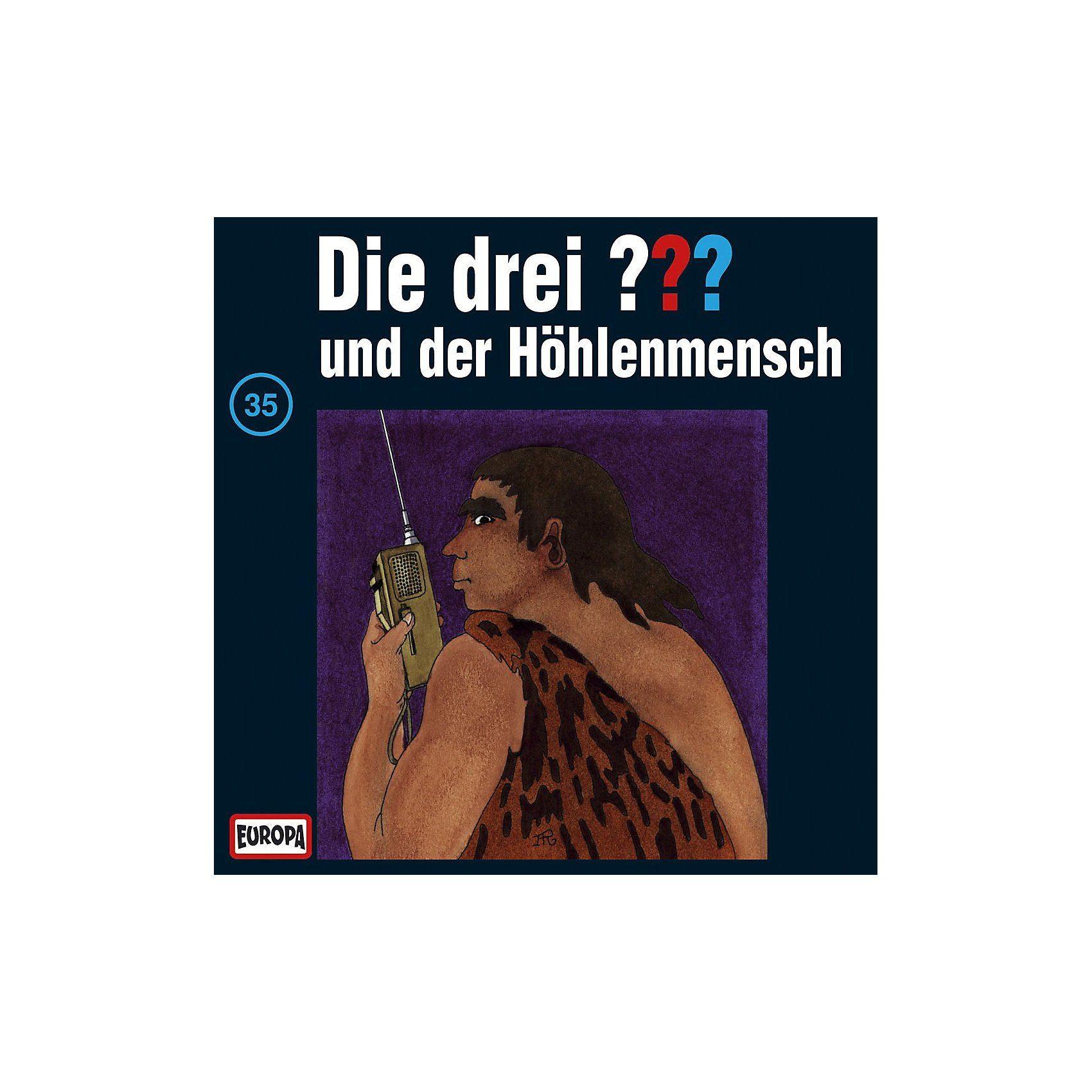 Sony CD Die Drei ??? 035/und der Höhlenmensch