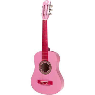 Gitarre Concerto pink, 75 cm