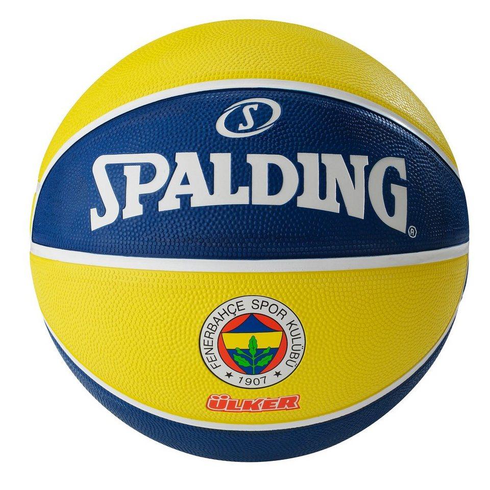 SPALDING EL Team Fenerbahce Istanbul Ülker Basketball in blau / gelb