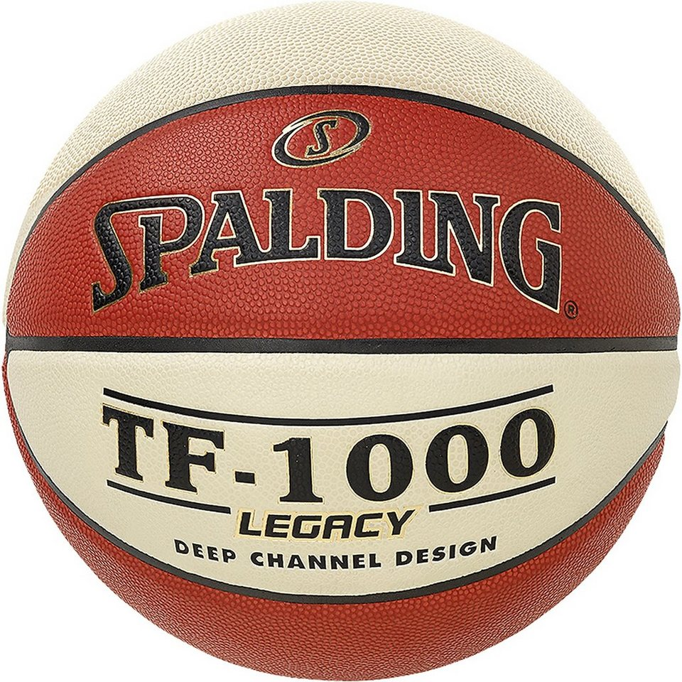 SPALDING TF1000 FIBA Women Basketball in braun / beige
