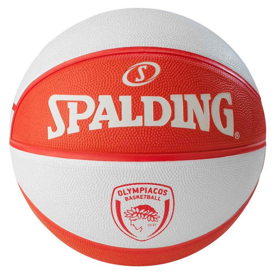 SPALDING ELTeam Olympiacos Basketball in rot / weiß