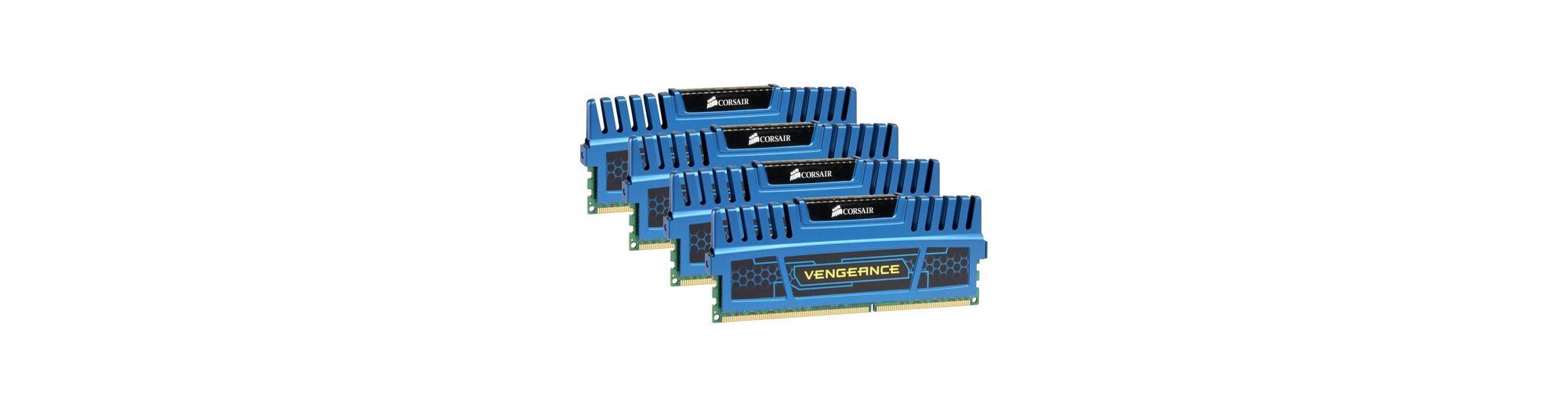 Corsair Arbeitsspeicher »DIMM 16 GB DDR3-1600 Quad-Kit«