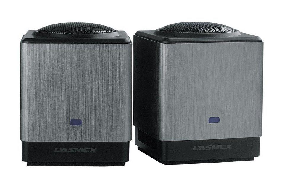 LASMEX mobiler Lautsprecher »S-05 (S-05)« in silber