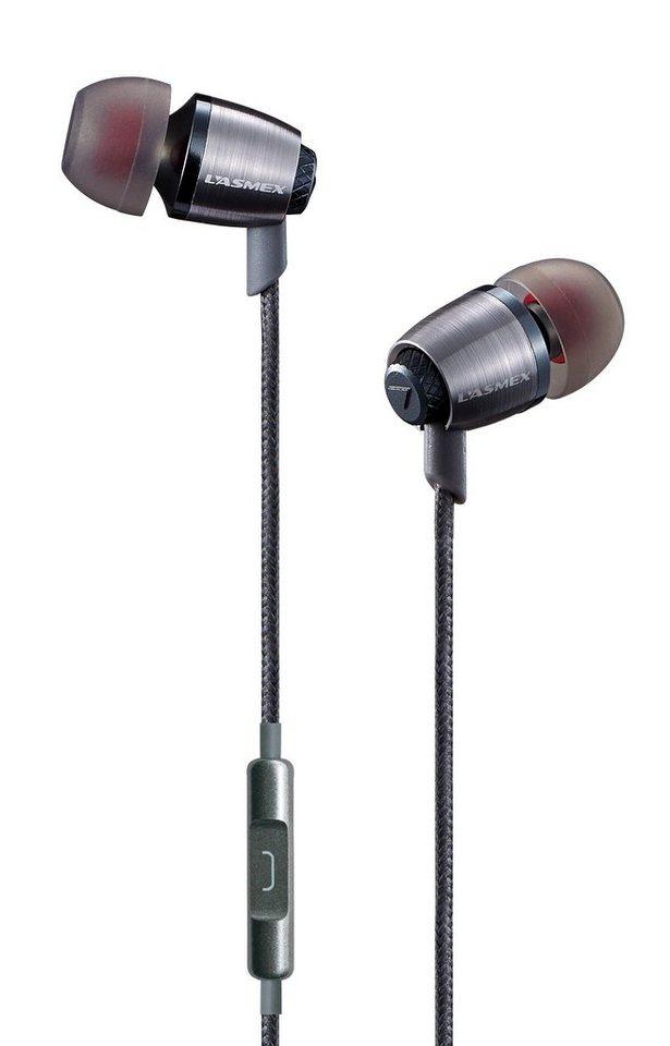 LASMEX Kopfhörer »E6i (E6I)« in grau
