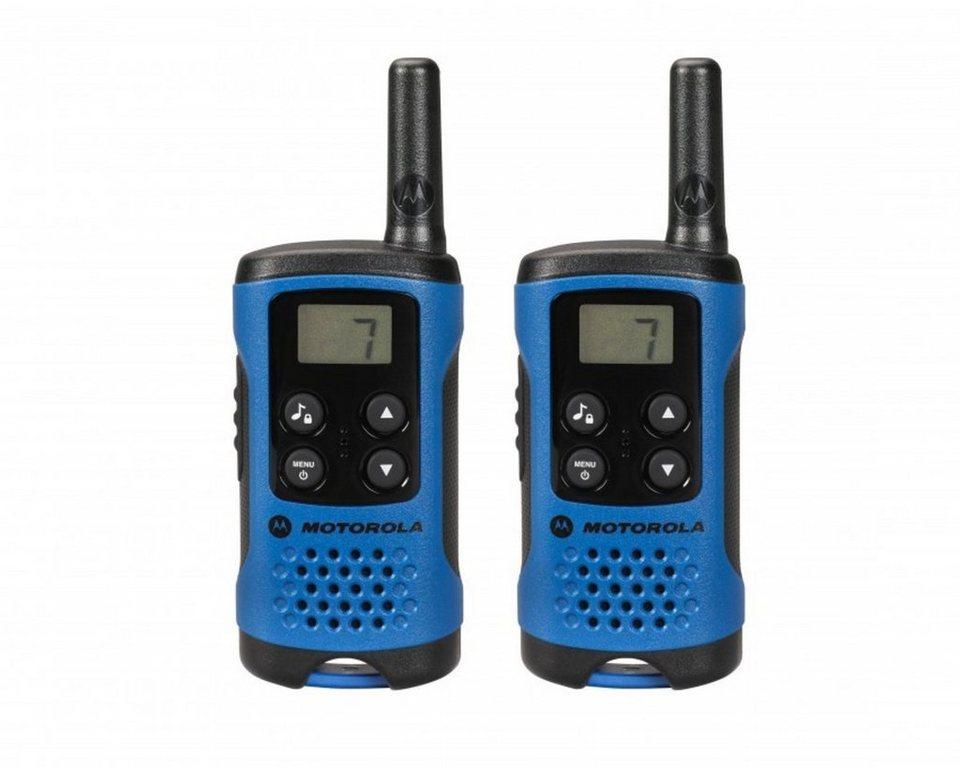 Motorola Funkgerät »TLKR T41« in Blau-Schwarz