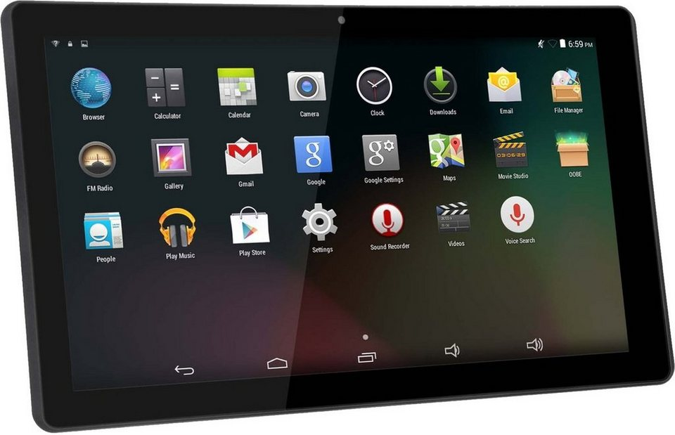 Denver Tablet »TAQ-10153 25,6cm (10,1 Zoll) 16GB, 1,3GHz, Android« in Schwarz