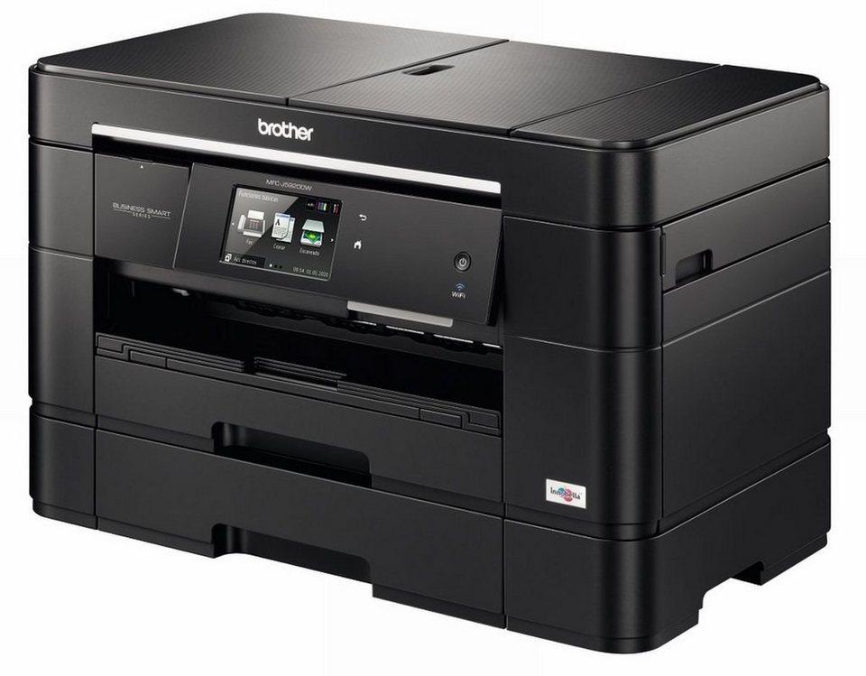 Brother Tintenstrahl-Multifunktionsdrucker »MFC-J5920DW 4in1 A3 Multifunktionsdrucker« in Schwarz