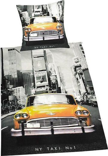 Bettwäsche »Taxi«, Herding Young Collection, mit Motiv