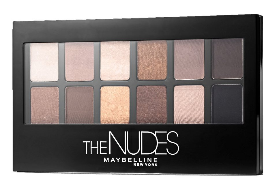 Maybelline New York, »The Nudes«, Lidschatten-Palette in Nude