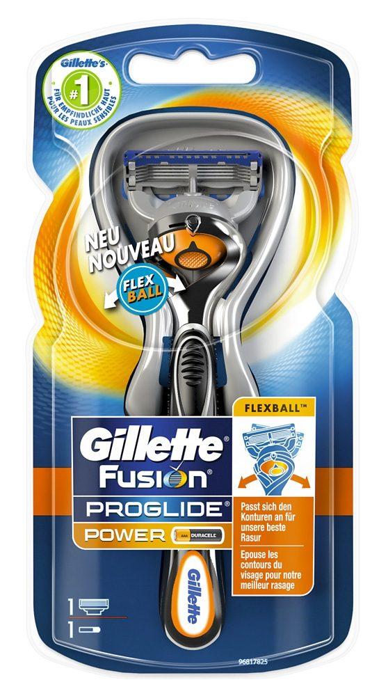 Gillette, »Fusion ProGlide Power«, Rasierer mit Flexball-Technologie
