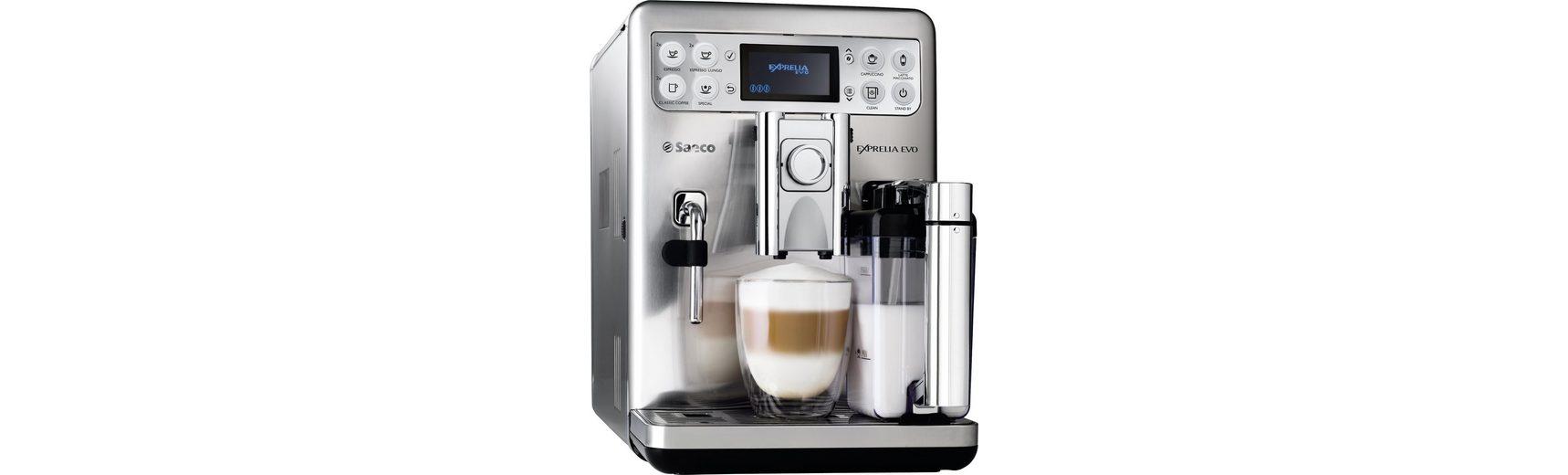 Saeco Kaffeevollautomat HD8858/01 Exprelia Evo Edelstahl