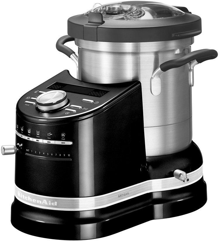 KitchenAid® Cook Processor ARTISAN 5KCF0103EOB, onyx schwarz in onyx schwarz