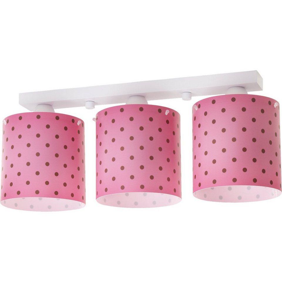 Dalber Deckenlampe Pink, gepunktet in pink