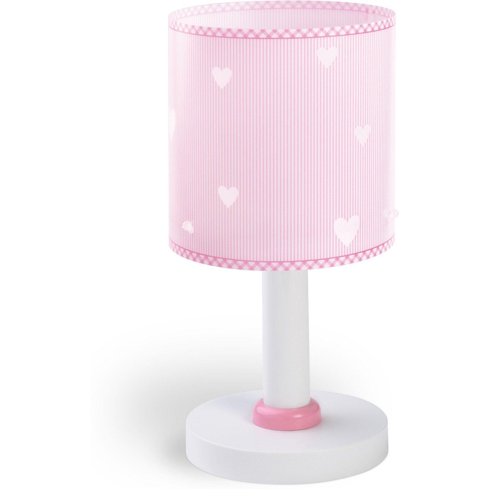 Dalber Tischlampe Sweet Dreams Herz, rosa