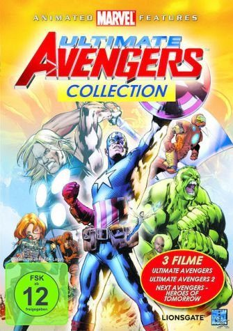 DVD »Ultimate Avengers Collection DVD-Box«