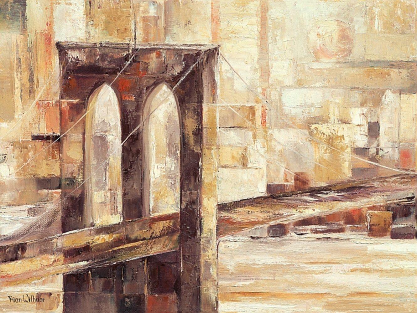 Home affaire Kunstdruck »Brooklyn Bridge«, Stadt