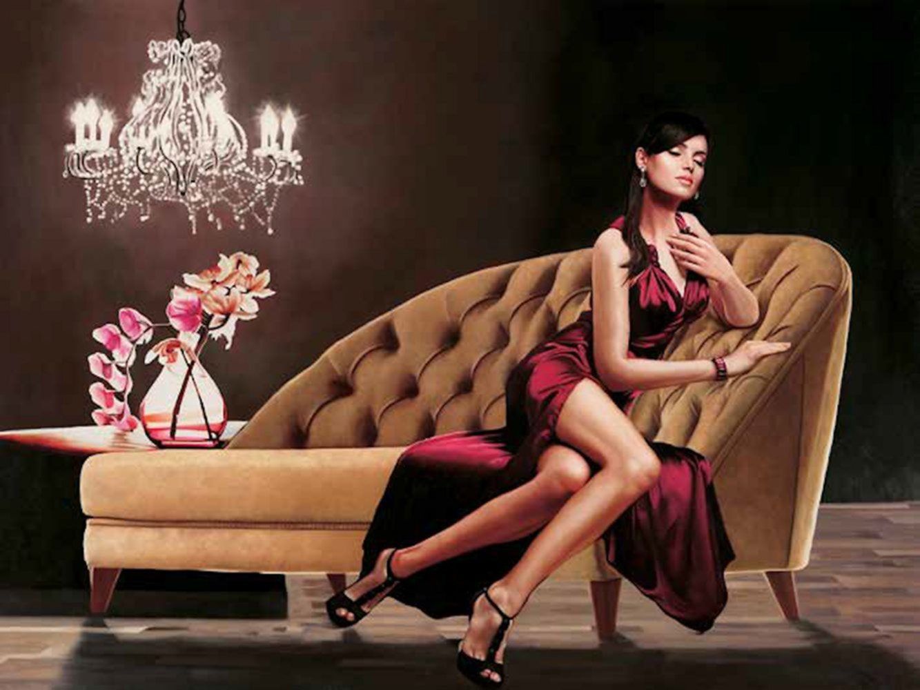 Home Affaire Bild Kunstdruck »Pierre Benson, Jewel«, 80/60 cm