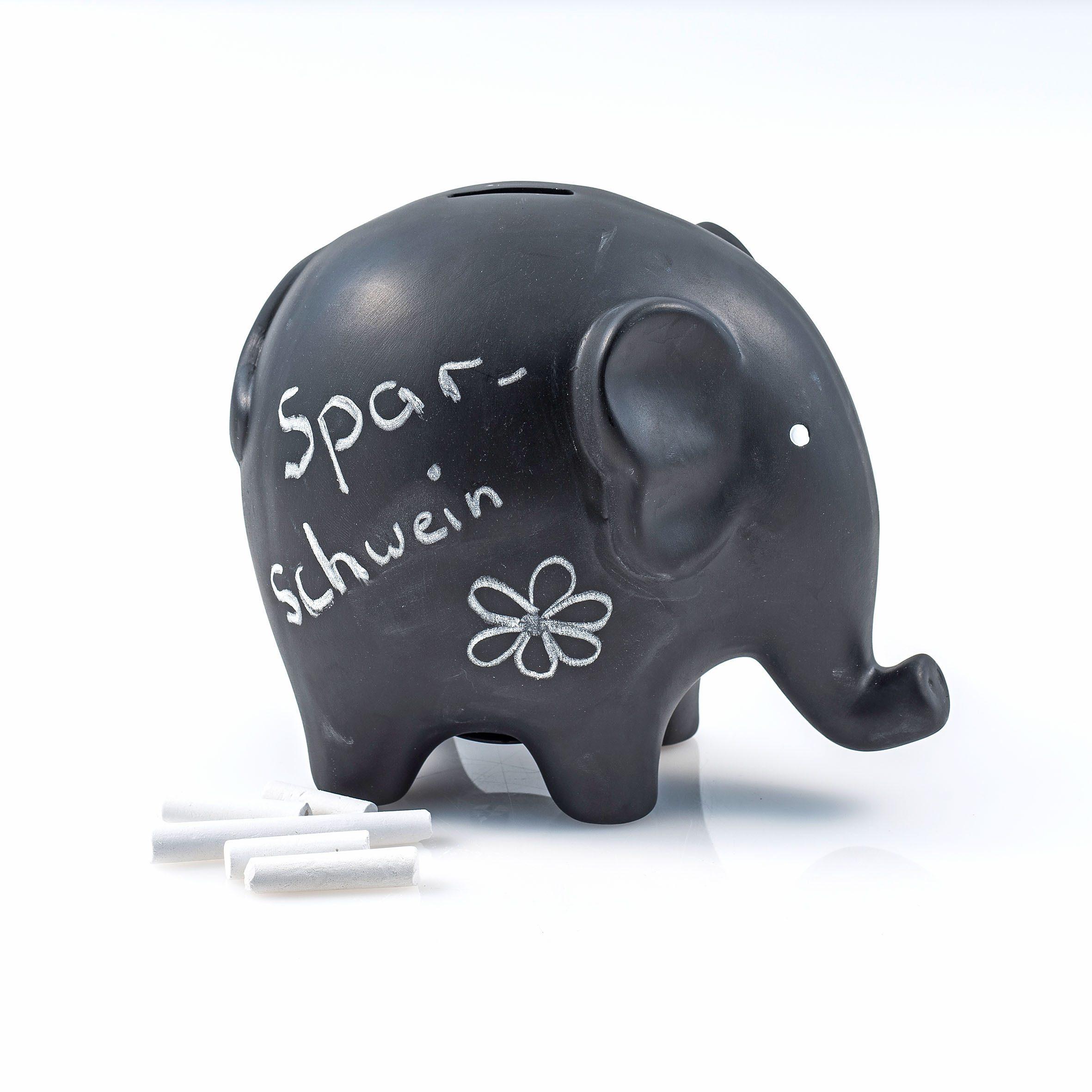 Home affaire Spardose »Elefant«, mit Kreide
