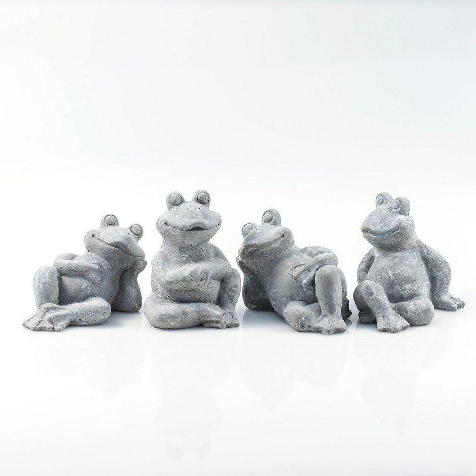Home affaire »Frösche Quartett«, 4-teiliges Set