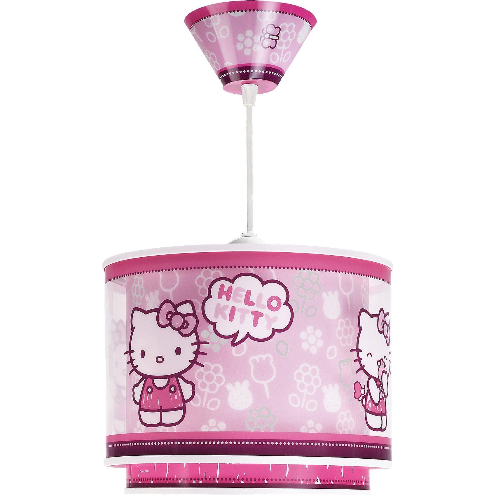 Dalber Hängelampe Hello Kitty, rosa