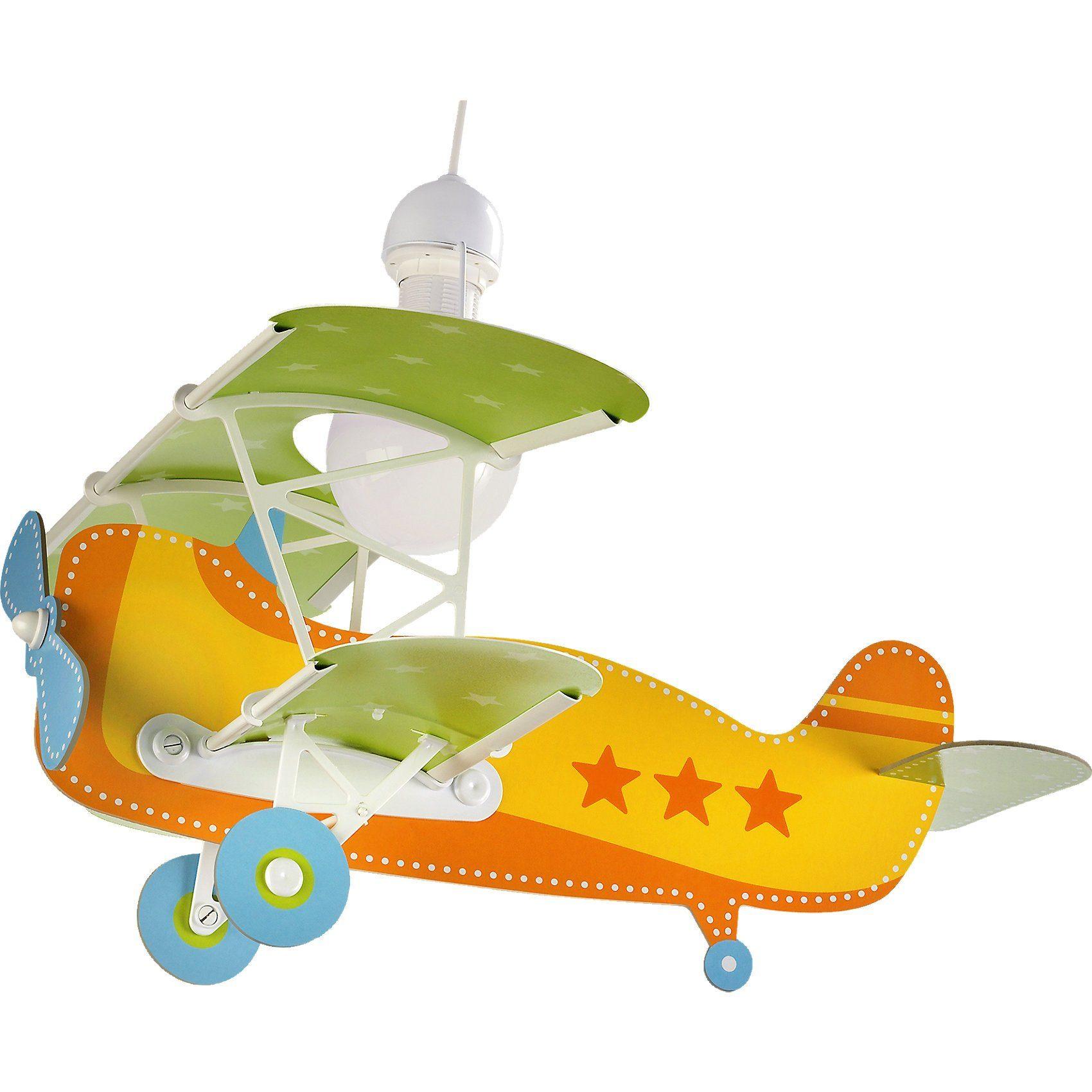 Dalber Hängelampe Flugzeug, gelb