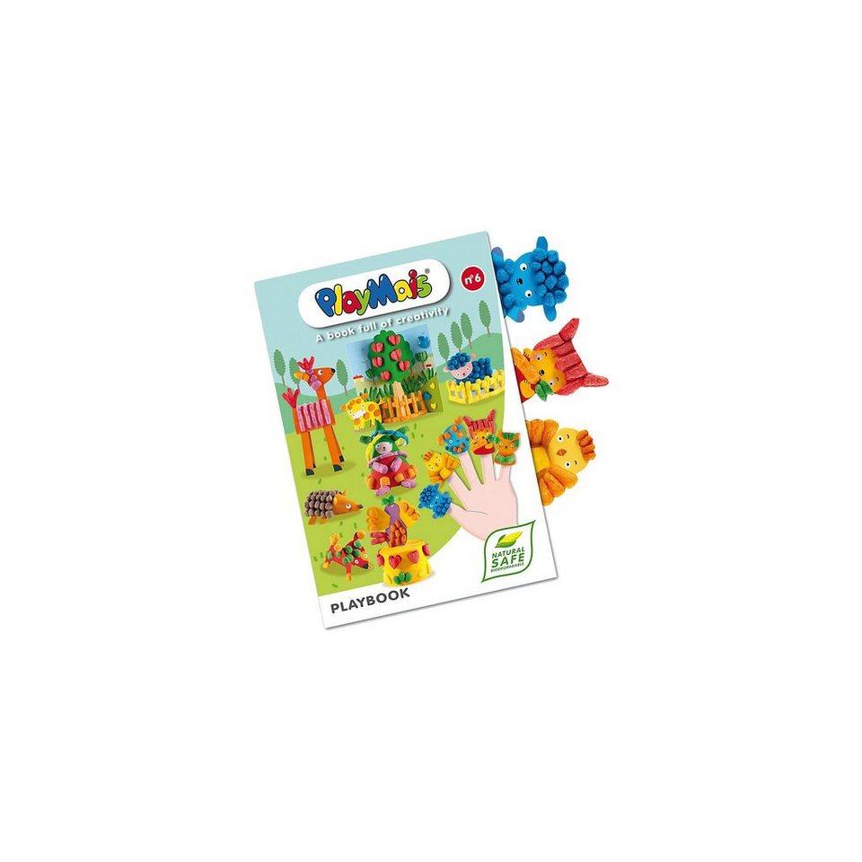 PlayMais Bastelbuch, 16 Seiten