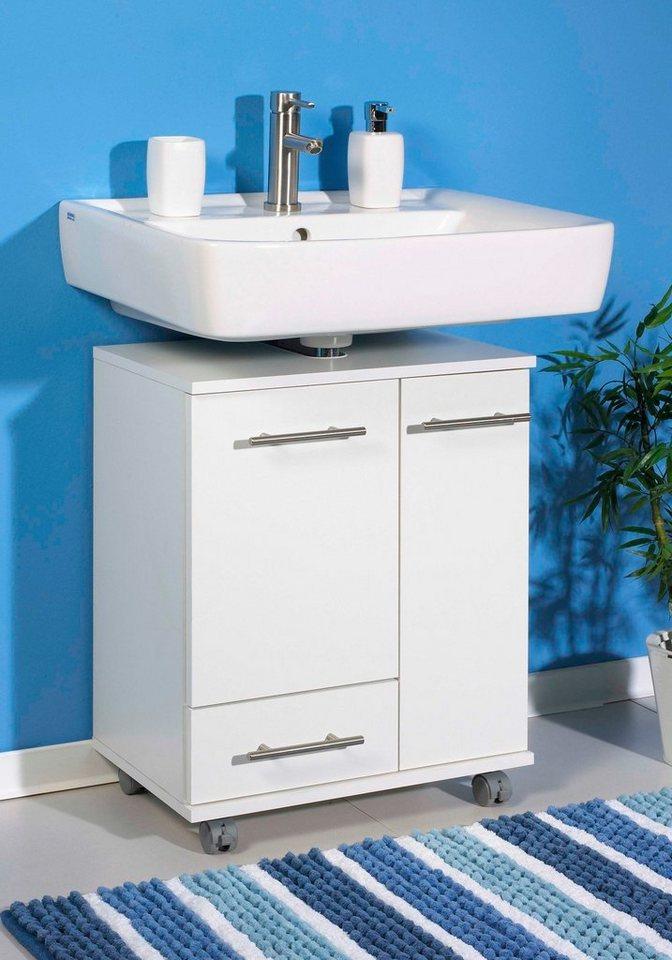 Waschbeckenunterschrank »Ken« in weiß
