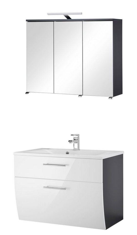 badm bel set toskana breite 60 cm 2 tlg otto. Black Bedroom Furniture Sets. Home Design Ideas