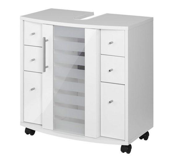 Held Möbel Waschbeckenunterschrank »Jaca«, Breite 60 cm