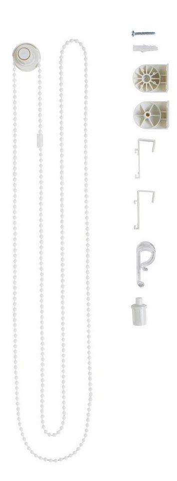 Ersatzteil-Zubehör-Set, für My Home Rollos (9 Teile) in weiß