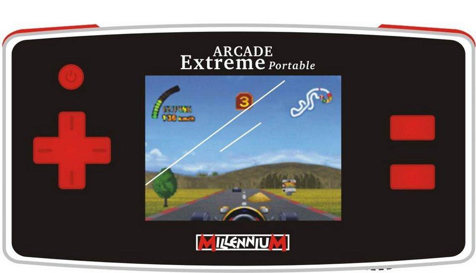 Millennium Spielkonsole »Arcade Extreme portable« in rot
