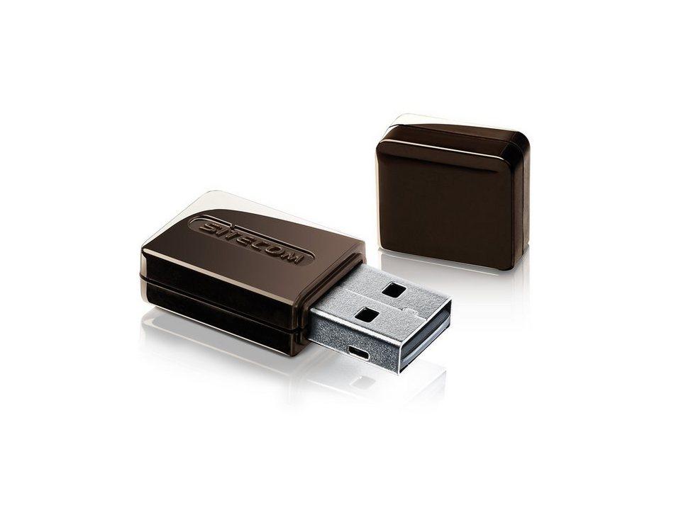Sitecom Wlan USB Adapter »WLA-2100« in schwarz