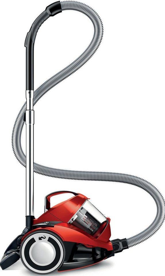 Dirt Devil Staubsauger DD2224-1/rebel 24HFC, beutellos, Energieeffizienzklasse A , metal-red in metal-red
